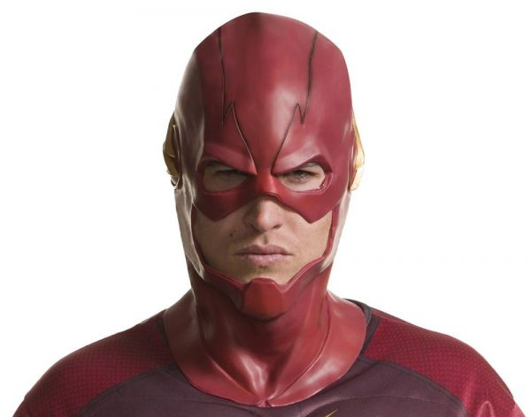 DCTV THE FLASH FULL OVERHEAD DELUXE LATEX MASKE