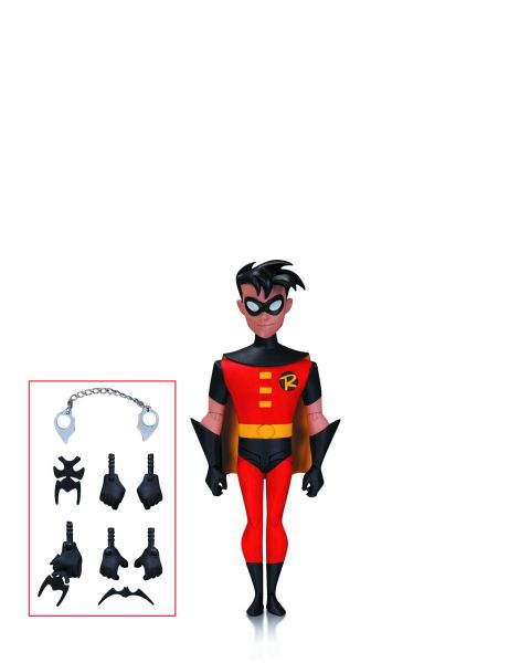 BATMAN ANIMATED NBA ROBIN ACTIONFIGUR