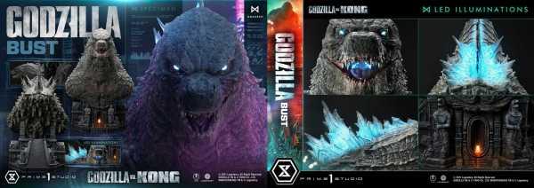 AUF ANFRAGE ! Godzilla vs Kong Godzilla 75 cm Büste Bonus Version