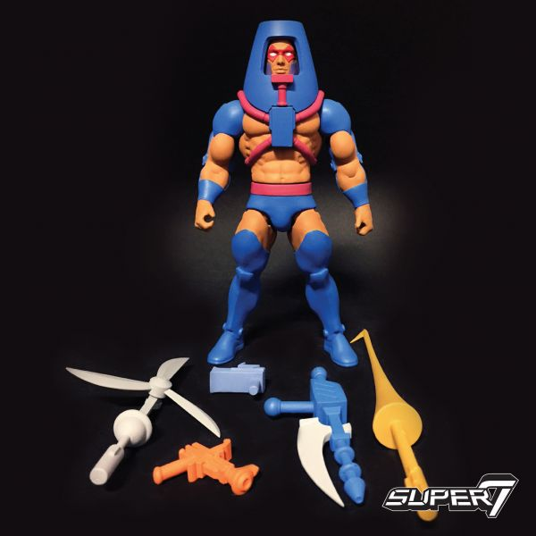 MASTERS OF THE UNIVERSE CLUB GRAYSKULL WAVE 2 MAN-E-FACES