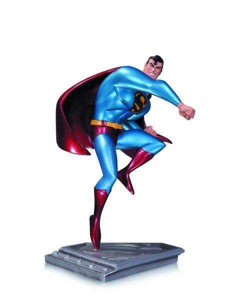 SUPERMAN MAN OF STEEL STATUE ANIMATED SERIES