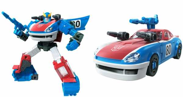 Transformers Generations War for Cybertron Earthrise Smokescreen Deluxe Actionfigur