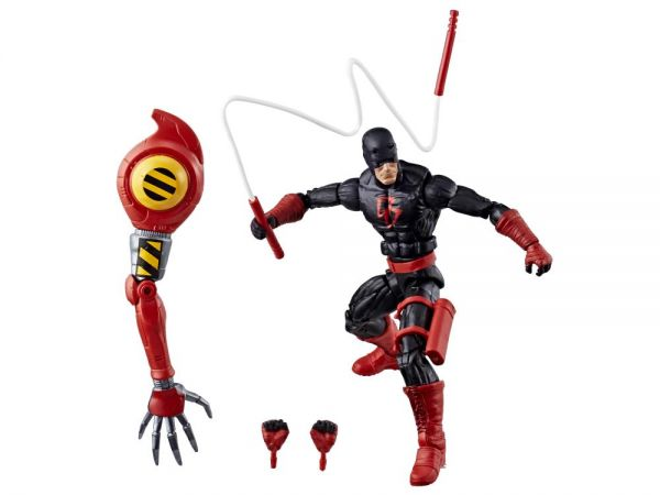 SPIDER-MAN LEGENDS 15 cm DAREDEVIL ohne Baf Teil ACTIONFIGUR
