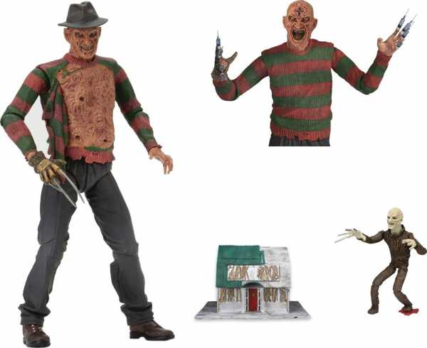NIGHTMARE ON ELM STREET 3 ULTIMATE DREAM WARRIORS FREDDY 17,5 cm ACTIONFIGUR
