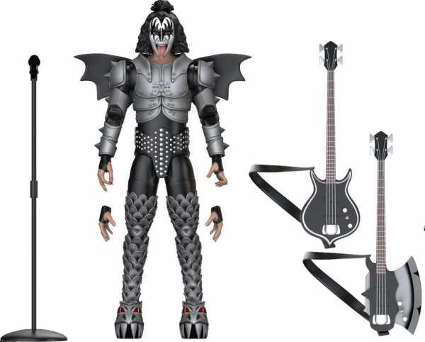 VORBESTELLUNG ! Kiss BST AXN The Demon 13 cm Actionfigur