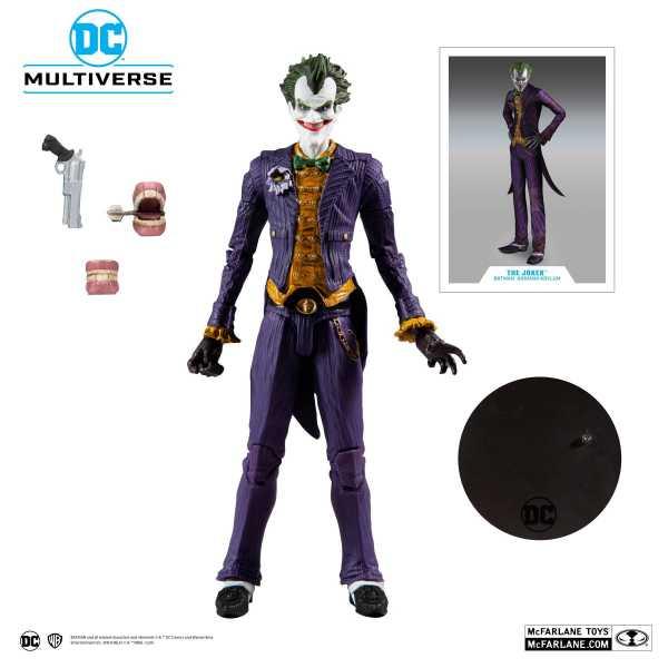 Batman Arkham Asylum Joker 18 cm Actionfigur