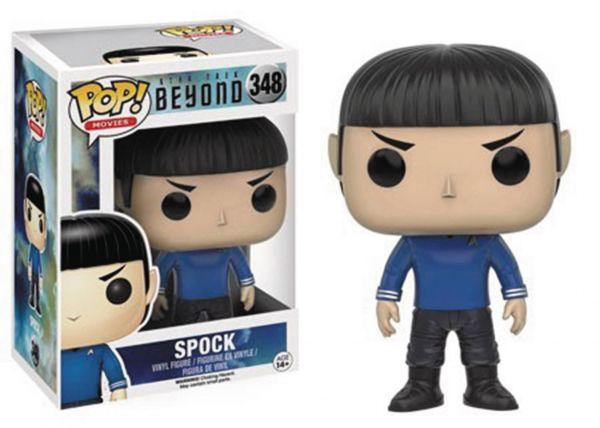 POP STAR TREK BEYOND SPOCK VINYL FIGUR defekte Verpackung