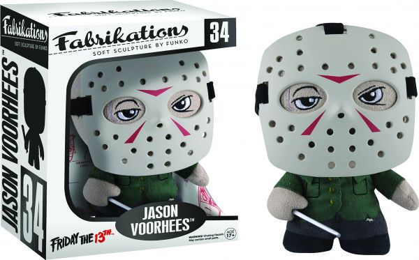 FABRIKATIONS HORROR JASON VOORHEES SOFT SCULPT PLÜSCHFIGUR