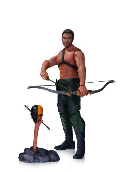 ARROW TV OLIVER QUEEN & TOTEM ACTIONFIGUR