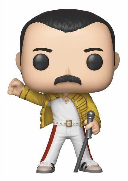 POP ROCKS QUEEN FREDDIE MERCURY JACKET VINYL FIGUR