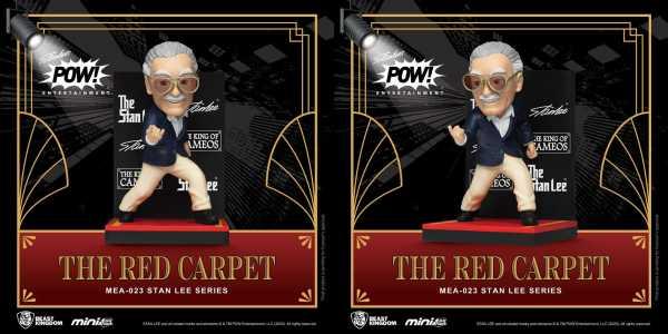 VORBESTELLUNG ! MEA-023 Stan Lee Mini Egg Attack Stan Lee The Red Carpet 8 cm Actionfigur