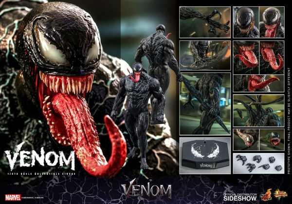 VORBESTELLUNG ! Venom Movie Masterpiece Series PVC 1/6 Venom 38 cm Actionfigur