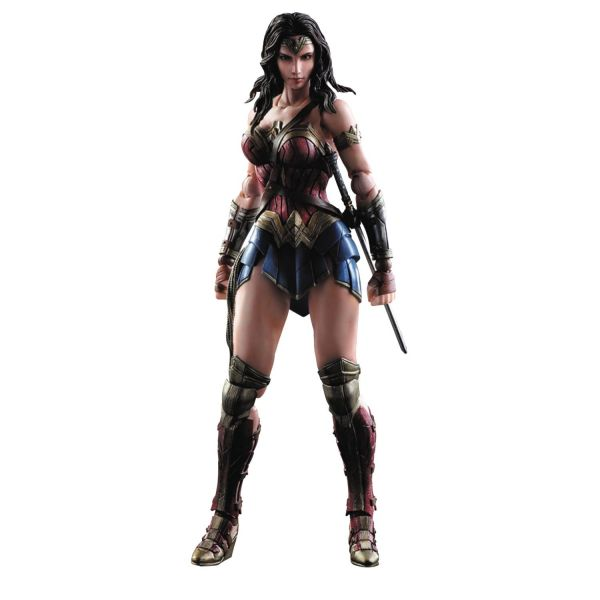 BVS DAWN OF JUSTICE PLAY ARTS KAI WONDER WOMAN ACTIONFIGUR