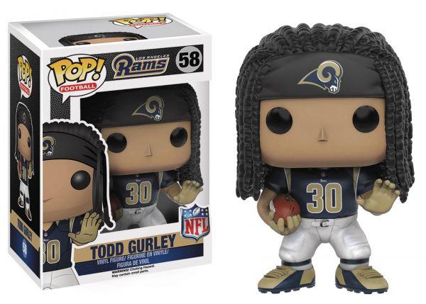 POP FOOTBALL NFL TODD GURLEY defekte Verpackung