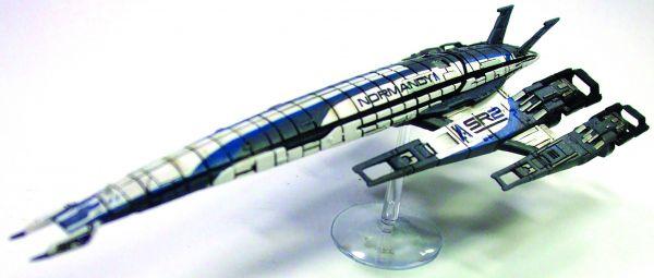 MASS EFFECT SR-2 NORMANDY SHIP REPLICA