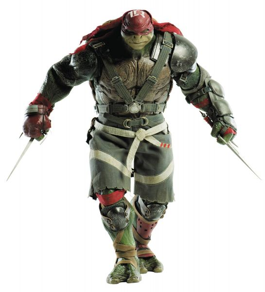 TEENAGE MUTANT NINJA TURTLES OUT OF THE SHADOWS RAPHAEL 1/6 SCALE ACTIONFGUR
