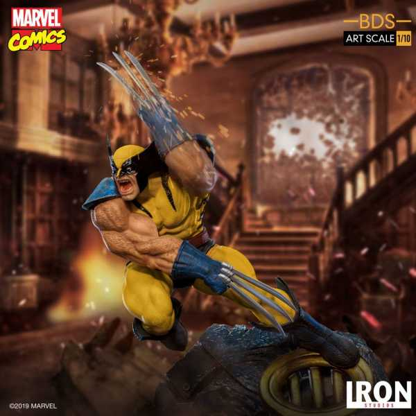 VORBESTELLUNG ! Marvel Comics Wolverine 22 cm Scale 1/10 BDS Art Statue