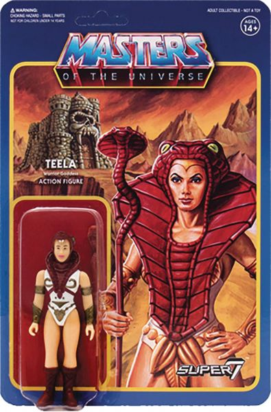 MASTERS OF THE UNIVERSE WAVE 3 TEELA 10 cm ACTIONFIGUR