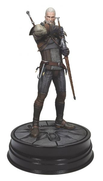 WITCHER 3 WILD HUNT GERALT STATUE