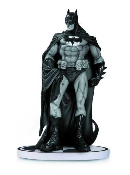 BATMAN BLACK AND WHITE STATUE BY RISSO 2ND EDITION