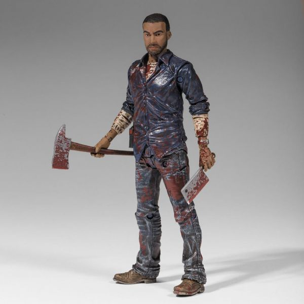 THE WALKING DEAD LEE EVERETT ACTIONFIGUR BLOODY VERSION