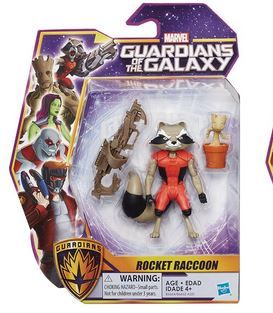 MARVEL GUARDIANS OF THE GALAXY ROCKET RACCOON ACTIONFIGUR