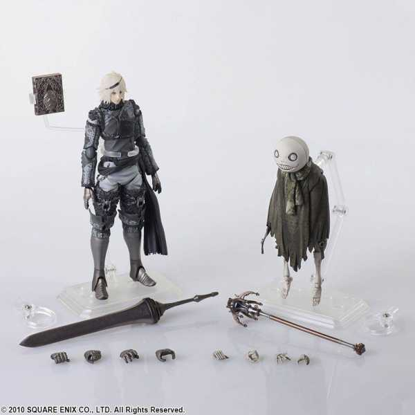 NIER REPLICANT BRING ARTS NIER & EMIL ACTIONFIGUREN 2-PACK