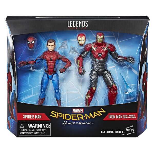 MARVEL LEGENDS SPIDER-MAN HOMECOMING ACTIONFIGUREN 2-PACK