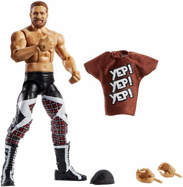 WWE ELITE COLLECTION SAMI ZAYN ACTIONFIGUR
