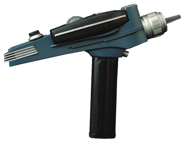 STAR TREK THE ORIGINAL SERIES BLACK HANDLE PHASER