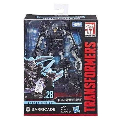 TRANSFORMERS GENERATIONS STUDIO SERIES DELUXE BARRICADE ACTIONFIGUR