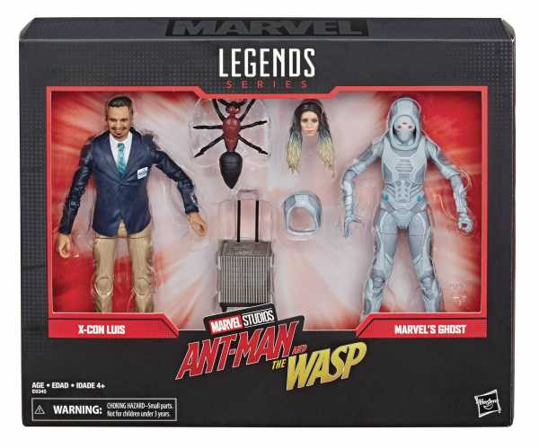 MARVEL LEGENDS 80TH ANN GHOST / LUIS 6INCH SET
