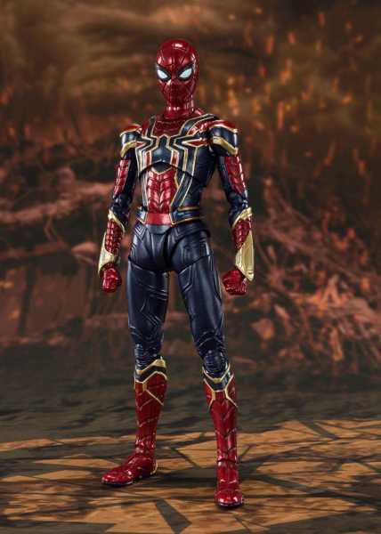 VORBESTELLUNG ! Avengers: Endgame S.H. Figuarts Iron Spider (Final Battle) 15 cm Actionfigur