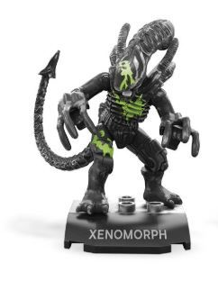 MEGA CONSTRUX HEROES XENOMORPH MINI ACTIONFIGUR