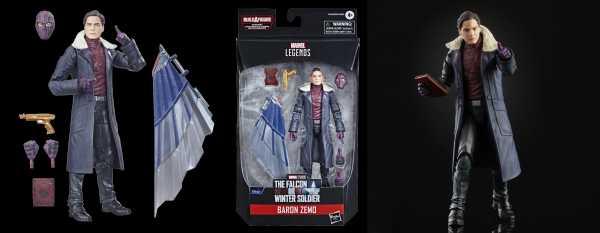 VORBESTELLUNG ! Avengers 2021 Marvel Legends 6 Inch Baron Zemo Actionfigur