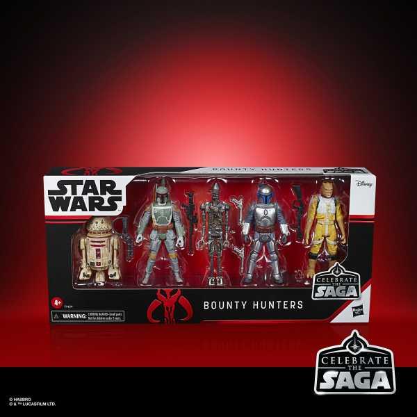 Star Wars Celebrate the Saga Bounty Hunters 3 3/4-Inch Actionfiguren Set