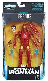BLACK PANTHER LEGENDS 15 cm INVINCIBLE IRON MAN ACTIONFIGUR