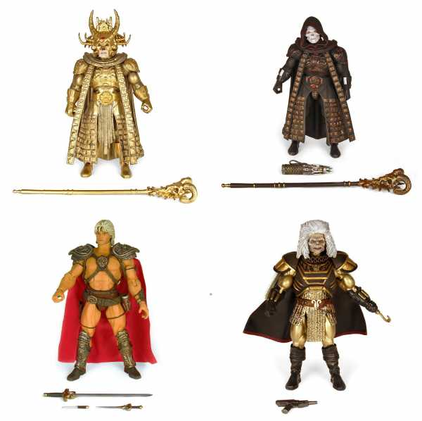 Masters of the Universe Collector's Choice William Stout Collection Actionfiguren Komplett-Set