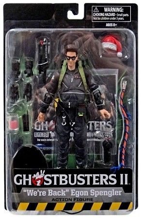 GHOSTBUSTERS 2 SELECT SERIES 7 WE'RE BACK EGON SPENGLER TRU EXCLUSIVE ACTIONFIGUR
