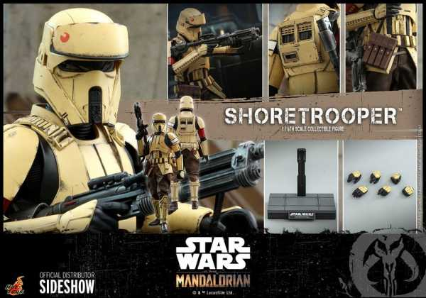 VORBESTELLUNG ! Star Wars The Mandalorian 1/6 Shoretrooper 30 cm Actionfigur