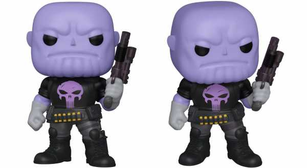 POP SUPER MARVEL HEROES THANOS EARTH-18138 PX 6 INCH VINYL FIGUR
