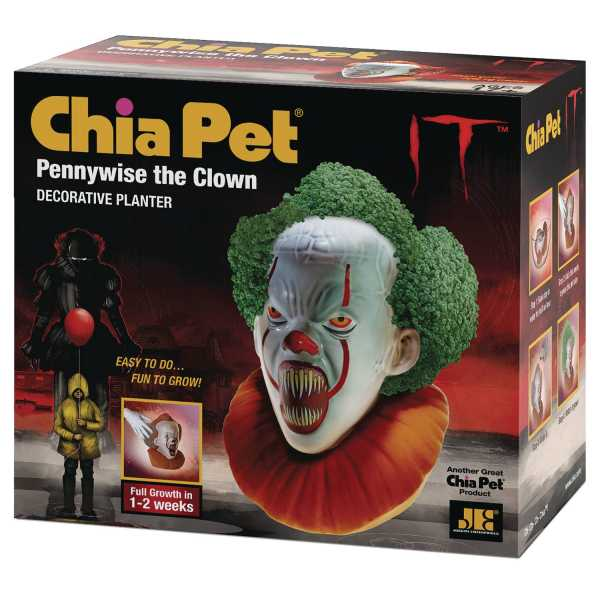 IT PENNYWISE SCREAMING CHIA PET