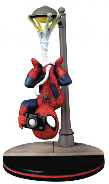 MARVEL HEROES SPIDER-MAN SPIDER CAM Q-FIG FIGUR