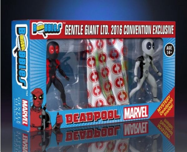 SDCC 2016 MARVEL DEADPOOL SECRET WARS MICRO BOBBLE 3-Pack