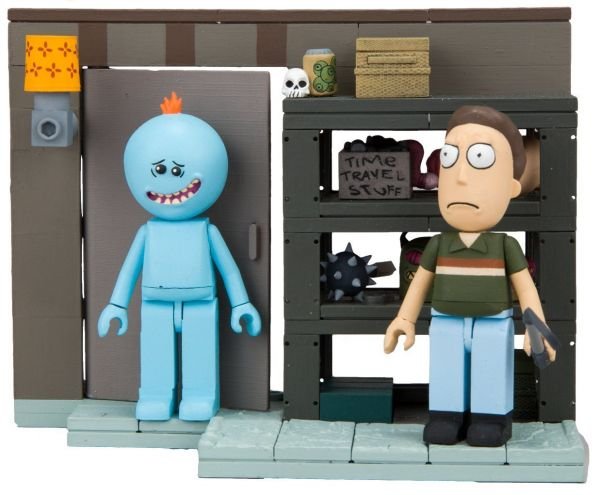 RICK & MORTY SMITH FAMILY GARAGE RACK BAUSATZ