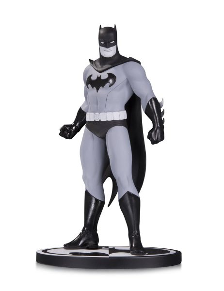 BATMAN BLACK & WHITE BATMAN STATUE BY AMANDA CONNER