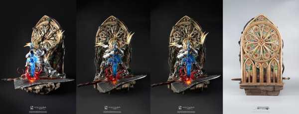 AUF ANFRAGE ! Soul Calibur VI 1/4 Soul Embrace Siegfried 62 cm Statue Deluxe Edition