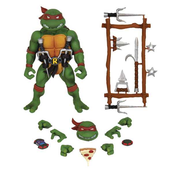 VORBESTELLUNG ! TEENAGE MUTANT NINJA TURTLES ULTIMATES RAPHAEL ACTIONFIGUR