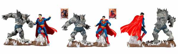 DC Multiverse Collector Superman vs Devastator 18 cm Actionfiguren Multipack