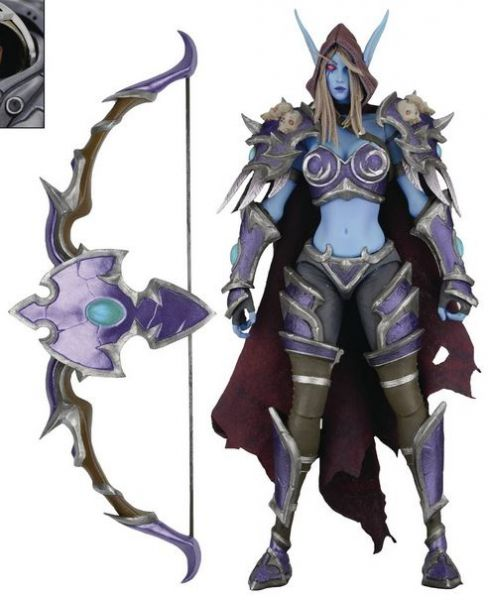 HEROES OF THE STORM SERIES 3 SYLVANAS (WORLD OF WARCRAFT) 17,5 cm ACTIONFIGUR